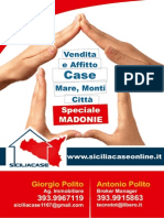 Siciliacase di Polito Giorgio - volantino 2014