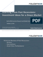 Investment Portfolio for a Down Market - October 12 2011