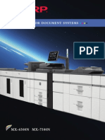 Midshire Business Systems - Sharp MX 6500N 7500N - Production Printers Brochure