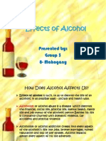 Effects of Alcohol in human body