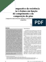 Resist en CIA Em Funcao Da Composicao Do Pino