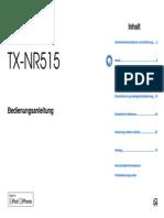 Manual TX-NR515 De