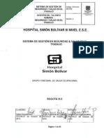 GTH-DO-280-009 SISTEMA DE GESTIÓN EN SEGURIDAD & SALUD EN EL TRABAJO