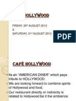 CAFÉ HOLLYWOOD