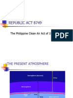 Republic Act 8749 Lecture