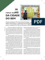 Revista Pronews 166, Campanha Tem Vida Nas Ruas
