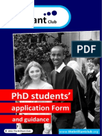 Brilliant Application Form and Guidance v1