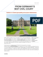 News From Germany's Highest Civil Court_ChristianWLiedtke