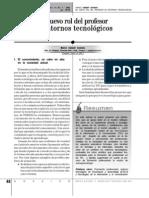 Nuevo Rol de Prof. en TIC