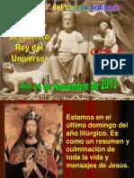 Dom Cristo Rey C