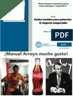 Avance_Redes Sociales Para El Sector Asegurador_ManuArroyo_CostaRica