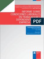 Informe Sobre Condiciones Laborales