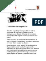 Comisiones Investigadoras. Por Gustavo Gorriti