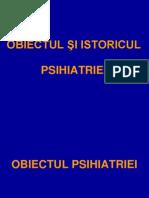 1. OBIECTUL ŞI ISTORICUL PSIHIATRIEI 1.ppt
