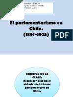 Clase4. El Parlamentarismo en Chile