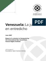 Venezuela Justice Under Threat(Spanish)