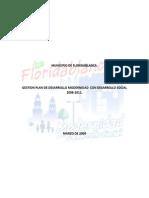 Analisis Plan Desarrollo 2008 Floridablanca