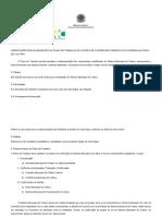 Orientações para elaboração do plano de trabalho do município.