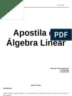 apostila álgebra linear