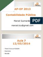 11-03-2014 - SEAP-DF_2013_Aula_07_Lei 4320_64 - Marcel Guimarães (2)