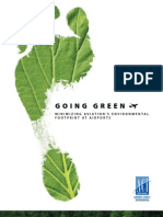 Going Green - Minimizing Aviation's Environmental Footprint at Airports