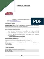 Resume Surendra