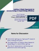 Solid State Lighting Energy Efficiency