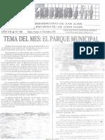 LLOIXA. Número 68 octubre, 1988. Butlletí Informatiu de Sant Joan. Boletín informativo de Sant Joan.  Autor