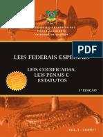 Leis Especiais Penais Tomo I 2013