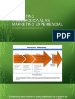 Marketing Transaccional vs Marketing Experiencial
