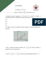 LISTA 3 NÚMEROS COMPLEXOS