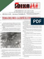 LLOIXA. Número 69 noviembre/novembre, 1988. Butlletí Informatiu de Sant Joan. Boletín informativo de Sant Joan.  Autor