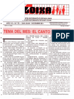 LLOIXA. Número 70 diciembre/desembre, 1988. Butlletí Informatiu de Sant Joan. Boletín informativo de Sant Joan.  Autor