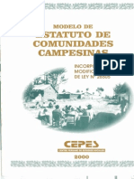 Estatuto de Comunidades Canpesinas