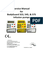Manual de Servicio Bomba de Infusion Bodyguard 323