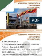 17-Normas de Participación en una Feria Internacional