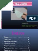 objeto tecnico teclado
