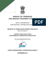 Sewerage Design Manual 2013 india