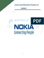 recruitment process of NOKIA