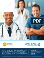 2014 Survey of Temporary Physician Staffing Trends