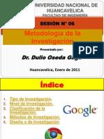 - SESION N° 06 - METODOLOGIA DE LA INVESTIGACION