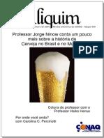 ALIQUIM - história da Cerveja no Brasil e no Mundo