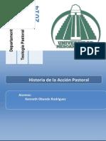 Historia de la Acción Pastoral - Síntesis