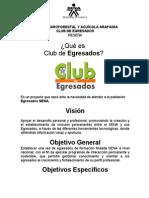 Informe Club de Egresados Sena Putumayo