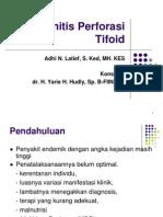 perforasi tifoid