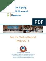 WASH Sector Status Report 2011 (1)