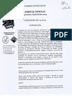 Caderno de Encargos do Jornal Oficial da Queima das Fitas 2014