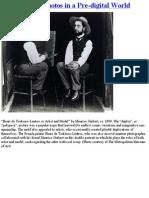 Manipulating Photos in a Pre-Digital Age