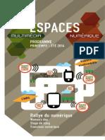 ESPACES multimédia et numérique