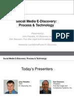 SocialMedia eDiscovery LexisNexis